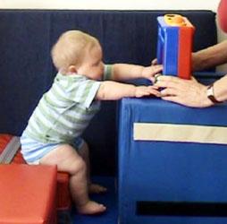 My infant won't put her feet down to stand   Developmental ...